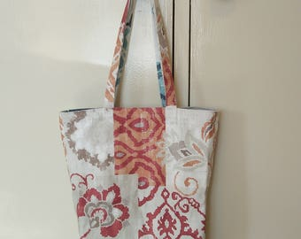 Reversible bag, shopping bag,  tote bag