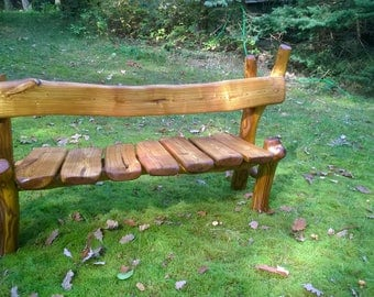 Children's Bench from Typhina wild-wooden bank rarity