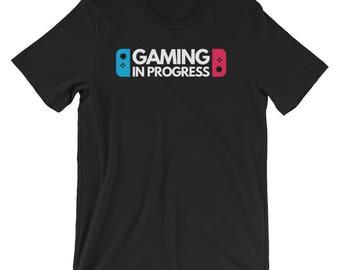 Gamer Shirt - Gamer Gifts - Gamer Girl - Funny Gaming T Shirt - Gaming Shirt For Teens Boys Girls Men Women - Short-Sleeve Unisex T-Shirt