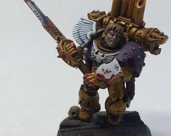 Warhammer 30,000 Horus Heresy -  Lucius, Thirteenth Captain of the Emperor's Children Legion