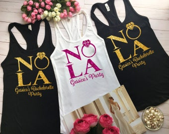 Nola Bride Shirts Nola Squad Bachelorette Shirt, Bachelorette Party Shirts, Bachelorette Party New Orleans, Bachelorette Nola Squad b21