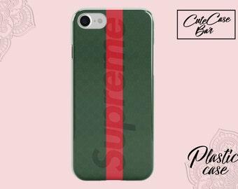 Supreme iPhone X Case iPhone 7 Case iPhone 6S Plus Case iPhone SE Case iPhone 8 Plus Cover Supreme Phone Case Supreme Case iPhone 6S Case