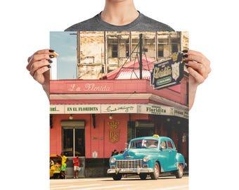 La Floridita | Havana, Cuba | Travel Photography | Wall Art
