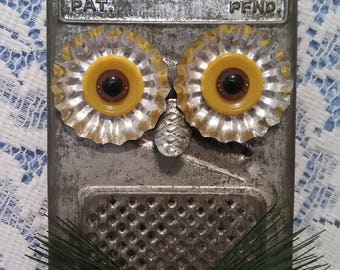 Grater Owl Wall Decor