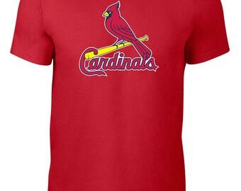 St.Louis Cardinals T Shirt Jersey MLB Baseball Plus Sizes S-5xl Tee 125