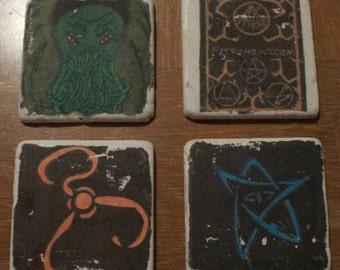 Lovecraft Coasters
