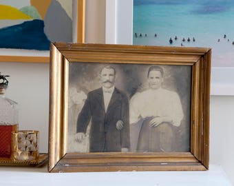 Vintage framed photograph