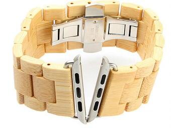 Bamboo Apple Watchband