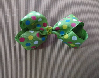 Large boutique hair bow