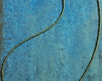 Natural Wave Beaded Necklace