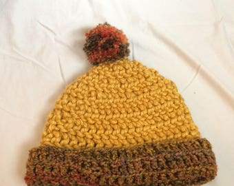 Autumn Colors Knit Hat