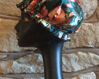 Oriental Emerald Luxury Glamorous Shower Cap