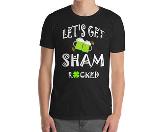 Shamrock Shirt, Let's Get Shamrocked Shirt, Shamrock t shirt, Irish Shirt, Drinking Shirt, St Pattys Day Shirt, Beer Shirt, Shamrock Tee