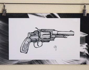 Pearl Handled Revolver