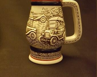 AVON Beer Stein/Mug, Handcrafted in Ceramarte, Brazil, 1982