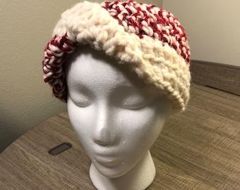 Crochet Headband / Earwarmer with Twist