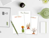 Personalized Fall Notepad...