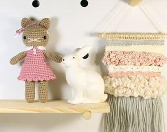 sayra .. amigurumi, stuffed plush toy, cat kitty amigurumi, crochet kitten plushie