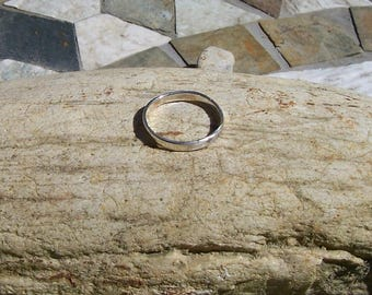 Sterling Silver Ring Size 8 1/4