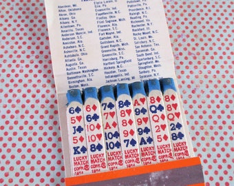 Vintage Book of Roadway Express Lucky Matches