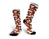 Custom Photo Socks, Bacon Socks, Personalized Photo Socks, Funny Photo Socks, Custom Printed Socks, Men Socks, Father's Day --62156-SOX1-603