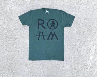 Adventure T Shirt, Unisex Shirt, Travel Gift, BlackbirdSupply Tshirt, Clothing Gift, Made in USA T-Shirt, Screen Print