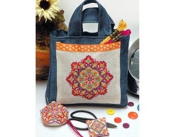 Sew Boho Mandala Cross Stitch Pattern Instant Download