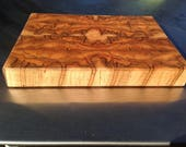 Ready to Ship Now - Very Spalted Red Maple Block