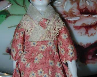 Antique China Dollhouse DOll...FREE USA SHIPPING