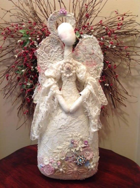 Mailed Cloth Doll Pattern Angel Art Doll