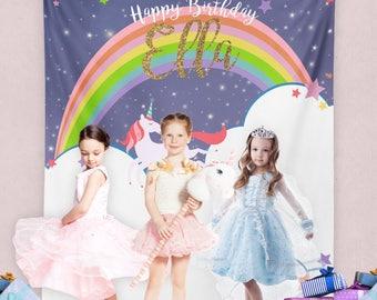 Unicorn Birthday Party, Unicorn Party, Magical Unicorn, Unicorn Party Banner, Unicorn Birthday Decor / N-T22-TP REG1 AA3