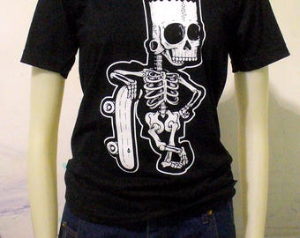 One of a Few BLIM! Custom Skull Bart T-Shirt