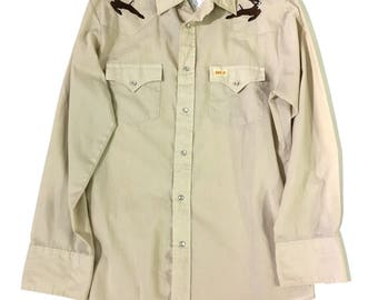 Western Wear Button Up Shirt
