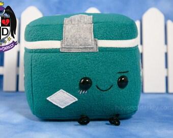 Green Cooler Supernatural inspired plush