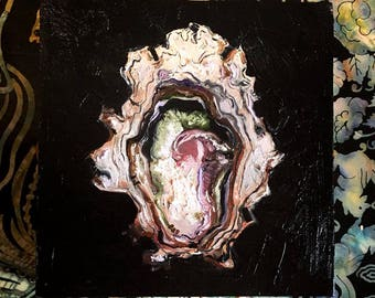 Oyster Oil Painting (customized)