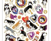 Huskies stickers reserved for Junko