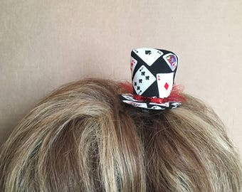 Mini Top Hat - Deck of cards - Poker - Casino