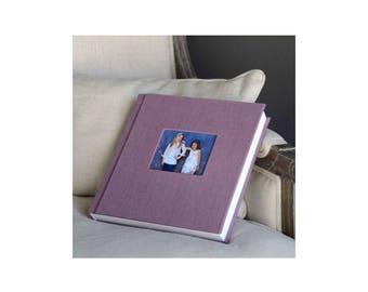 10x10 Photo Album, Self Mount Album, Book Cloth Album, Wedding Album, Scrapbook, Photo Album, Photo Scrapbook, Elegant Photo Album