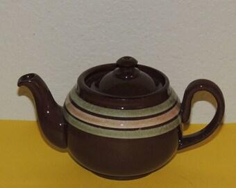 Individual Pottery Teapot LB England