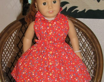 1950s 3 Pc Outfit Shirt Skirt Shorts for American Girl Maryellen 18 inch doll