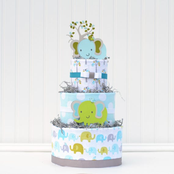 In the Trees Elephant Blossom Cake
