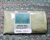 Marbled paper supplies   Carragheen moss seaweed, powdered- -  250 gr  - - 0,55 pounds.-  577