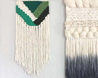 Woven Wall Hanging | Upcycled Fabric