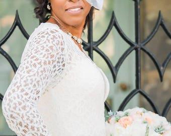 Birdcage Veil, Bird Cage Veil, Wedding Veil, English Net Veil, Face Veil, White Wedding Veil, Ivory Wedding Veil, Blush Pink Veil