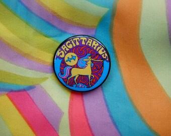 Sagittarius.. 1.5 Inch Button... 1.5 Inch Badge... 1.5 Inch Pin