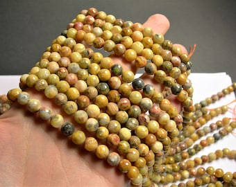 Crazy Lace Agate - 8mm faceted round -  full strand - 48 beads - RFG1337