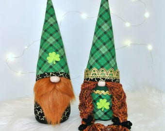 Irish St. Patrick's Day Gnomes, Tomte, Nisse, Irish Gnomes, Nordic Gnomes