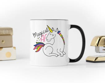 Magical AF / Unicorn Coffee Mug / Cute Unicorn Mug / Funny Unicorn Mug / Best seller