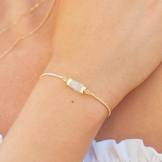 Gemstone Bracelet | Opal Bracelet | Bridesmaids Bracelet | Bridesmaids Gift | Layering Bracelet | Everyday Bracelets | Gift for Her