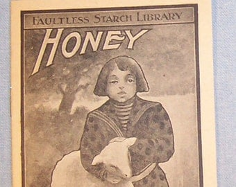 Vintage 1900's FAULTLESS STARCH Story Booklet-Volume #26 - HONEY-full of Conundrums-Free Shipping!